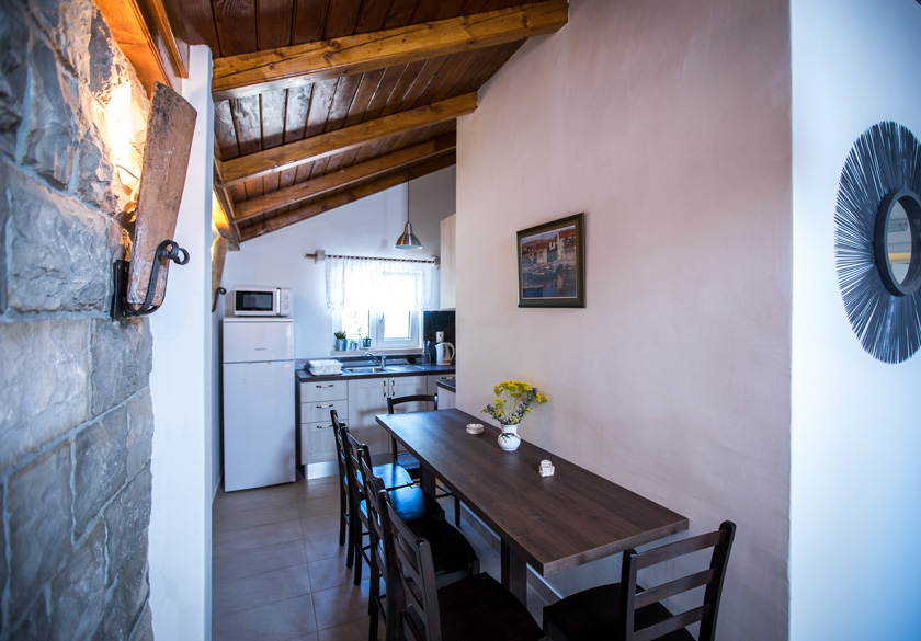 Apartman Marijan Slano kuhinja i  blagavaona