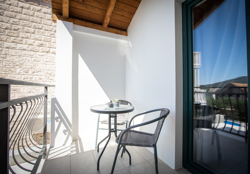 Balkon apartmana Marijan u Slanom
